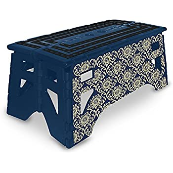 Amazon Com Cosco 11 905pbl4 Molded Folding Step Stool