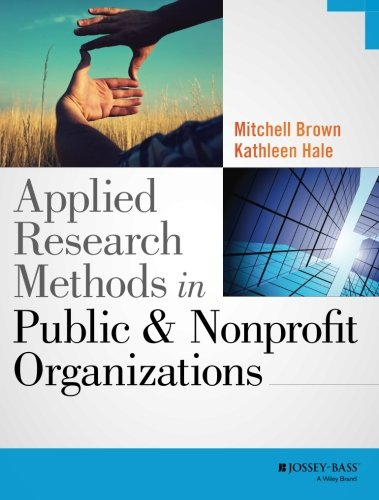 1118737369 - Applied Research Methods in Public and Nonprofit Organizations