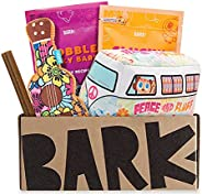 BarkBox Monthly Subscription Box, Dog Chew Toys, All Natural Dog Treats, Dental Chews, Dog Supplies Themed Mon