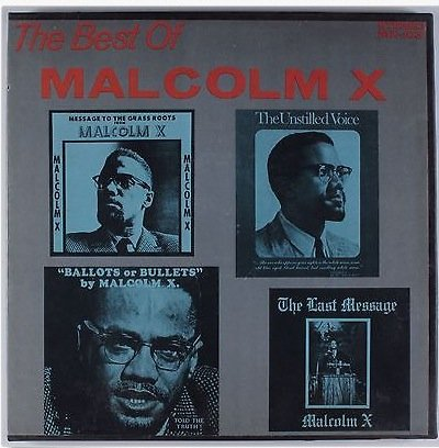 The Best of Malcolm X 5x Lp Box Set