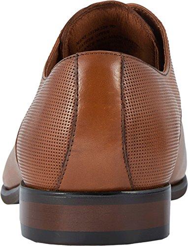 Florsheim Hombres Postino Plain Toe Oxford Brandy Smooth / Perf
