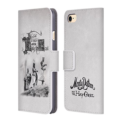 Official-Monty-Python-Holy-Grail-Key-Art-Leather-Book-Wallet-Case-Cover-For-Apple-iPhone-7