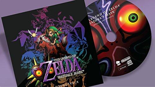 Legend of Zelda Majora's Mask Original Soundtrack Club Nintendo - Link Mask Zelda Majoras