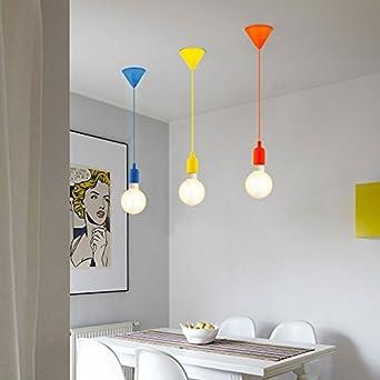 Pendelleuchte Gelb gaga l design colour pendelleuchte gelb max 60w e27 amazon de