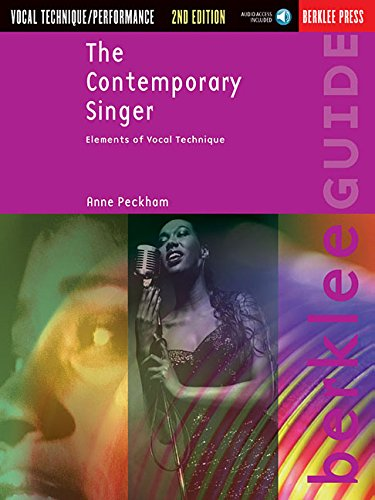The Contemporary Singer: Elements Of Vocal Technique Book & Online Audio (Berklee Guide)