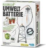 HCM Kinzel 663261 - Green Science, Set per esperimenti con batterie ecologiche [lingua tedesca]