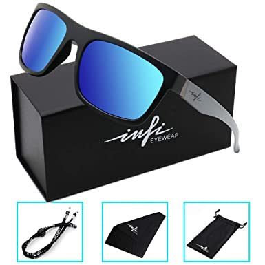 e66a0a9c1e7 Amazon.com  Polarized Fishing Sunglasses for Men and Women Wayfarer ...