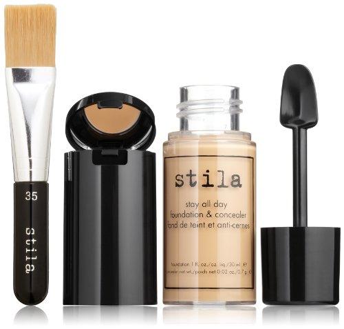 stila Stay All Day Foundation, Concealer & Brush Kit, Honey