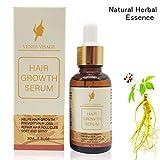 Hair Growth Serum,Hair Growth Treatment,Hair Serum,Hair Loss &Hair Thinning Treatment, Hair Growth Oil for Stronger, Thicker, Longer Hair(30ml) Venus Visage