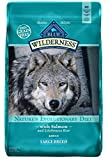 Image of Blue Buffalo Wilderness High Protein Grain Free, Natural Adult Large Breed Dry Dog Food, Salmon 24-Lb