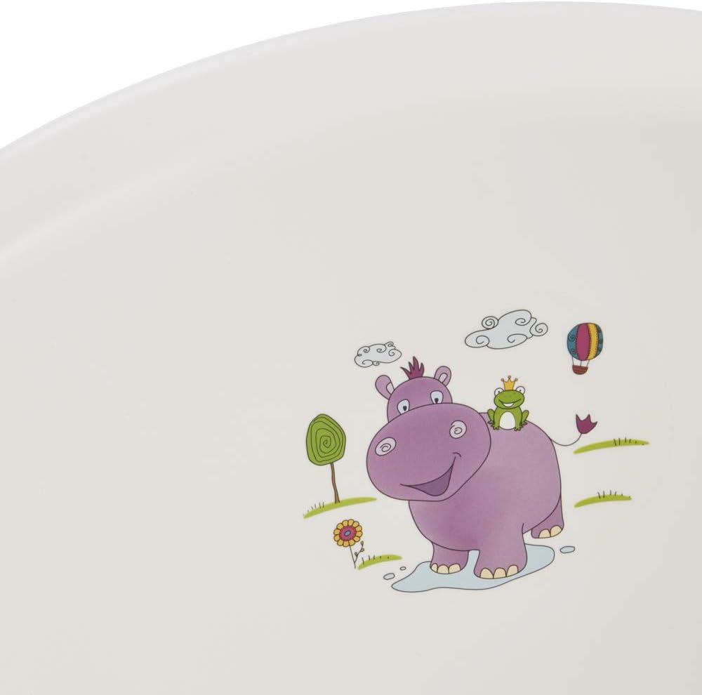Si/ège Ensemble de 2 Baignoire Hippo Blanc XXL 100 cm