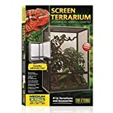 Exo Terra Aluminum Screen Terrarium, Medium Tall