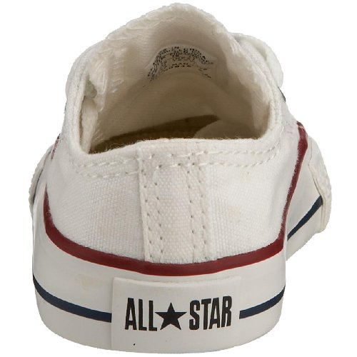 Converse Chuck Taylor All Star, Zapatillas de Lona Infantil Optical White