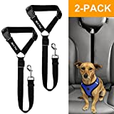 Mrli Pet Doggy Car Headrest Restraint – Animal Safety Seat Belt Strap – Adjustable Nylon Fabric Harness for Dog – Easy Vehicle Travel with Pet – Durable Zipline & Tether Backseat for Traveling
