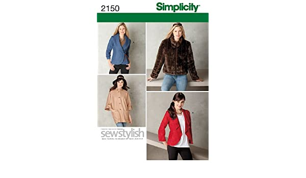 Simplicity 2150 Misses/' Jackets    Sewing Pattern