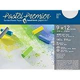 "Global Art Pastel Premier Sanded Paper 400 Grit White 9"" x 12"", 8 Shts./Pkg"
