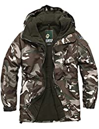 SOUTH PLAY Mens Premium Ski SnowBoard Wear Jacket Jumper CAMO BROWN