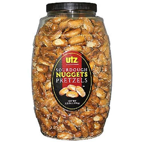 Utz Sourdough Pretzels Nuggets Barrel 3.25lbs. (2 ct.) vevo by Europe Standard