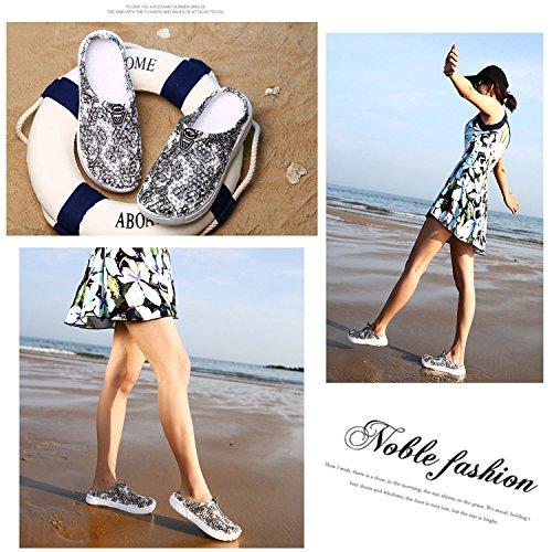 Shoes Barkor Grey1 Walking Mens Quick Mesh Garden Women's Summer Beach Clog Drying Sandals wX7qxrI7Y