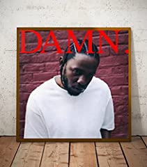 Kendrick Lamar DAMN Album Limited Poster Artwork  The sizes available include 8x10, 11x14, 16x20, 20x24 - This limited print is printed to ship at a professional photo lab - The print itself is a high quality glossy art print - Ships from the...