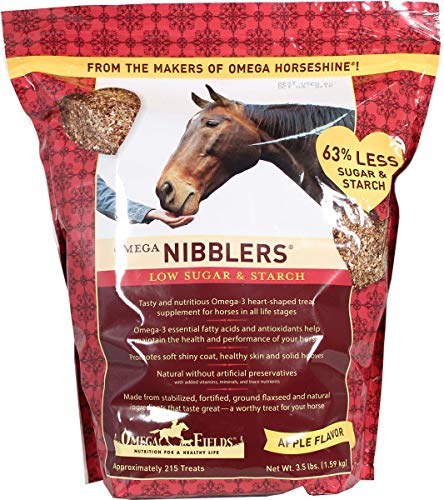 OMEGA FIELDS D Omega Nibblers Low Sugar and Starch Apple 3.5 Pound