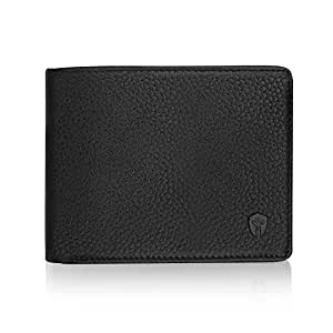 2 ID Window RFID Wallet for Men, Bifold Side Flip, Extra Capacity Travel Wallet