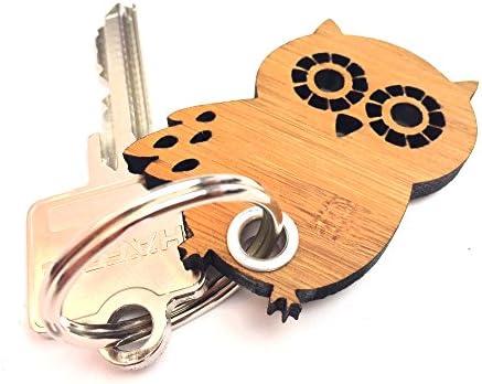Mr Mrs Panda Anhänger Taschenanhänger Schlüsselanhänger Eule Seitenflügel Farbe Küche Haushalt