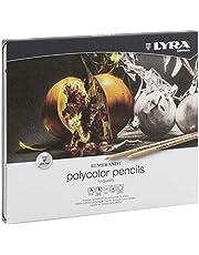 LYRA Rembrandt Polycolor Kuruboya, 24'lü Metal Kutu