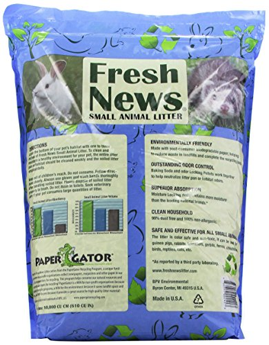 Fresh-News-Paper-Small-Animal-Litter-10000-Cubic-Centimeter