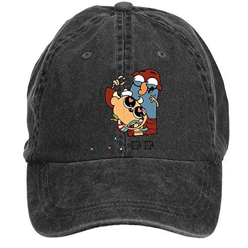 Tommery Unisex The Marvelous Misadventures of Flapjack Hip Hop Baseball Caps
