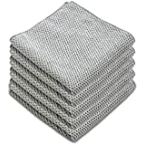 Microfiber Dish Cloths for Kitchen - Kitchen Cleaning Dish Cloth Towels Set, Absorbent Glass Cleaning Cloths for House…