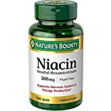Nature's Bounty Niacin 500 mg capsules 120 ea ( Pack of 8)