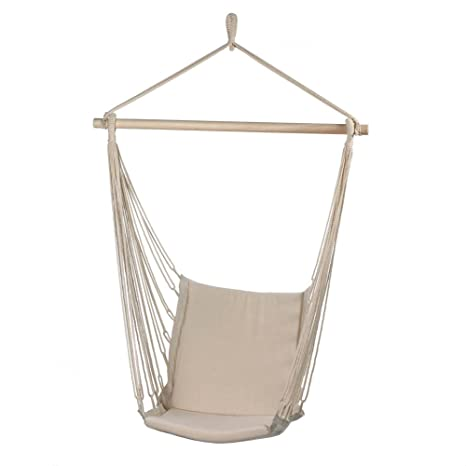 Delicieux One Person Garden/Yard/Porch Hanging HAMMOCK Padded Chair/Swing~Recycled  Cotton