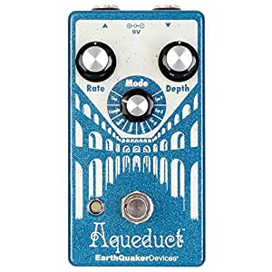EarthQuaker Devices EQDAQUE Aqueduct Vibrato Guitar Effect Pedal with True Bypass