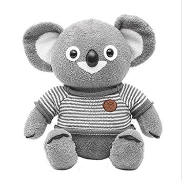 ShireyStore Tall 25cm Bufanda Suave Koala Felpa Bufanda Koala Muñeco de Peluche Felpa Bufanda Suave Koala
