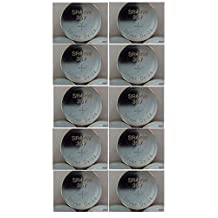 10x AG13 LR44 SR44 LR1154 357A A76 357 SR44SW Button Cell Battery Watch Battery by Eunicell