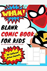 Blank Comic Book for Kids: Art and Drawing Comic Strips (Create Your Own Comic Book) Paperback