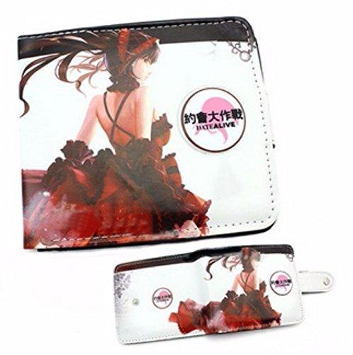new Cuero Piel Cartera Multi-bolsillos Cartera hombre Purse Muchacha Caliente FATE Gintama Tokyo Ghoul One piece Attack On Titan Fairy Tail rare