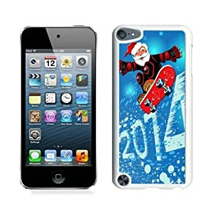 Cool Design 2014 Merry Christmas White iPod Touch 5 Case 1