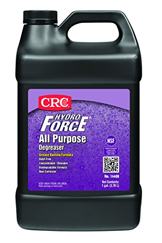CRC HydroForce  All Purpose Degreaser, 1 Gal (Crc Hydroforce Degreaser)
