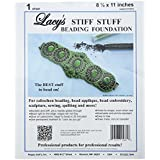 Lacy's Stiff Stuff Beading Foundation for Cabochons, 11 x 8.5""