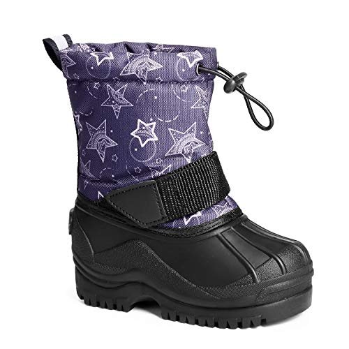 Trary Velcro Cotton Snow Boots for Boys Now $8.99 (Was $29.99)