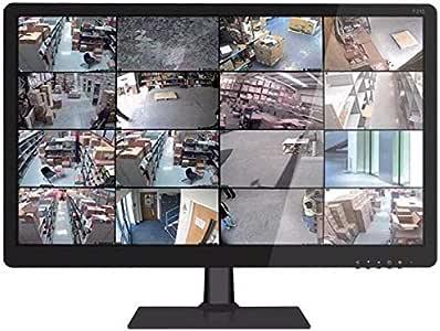 21 Pulgadas LED Monitor 1080P HDMI HD BNC VGA CCTV Audio 22