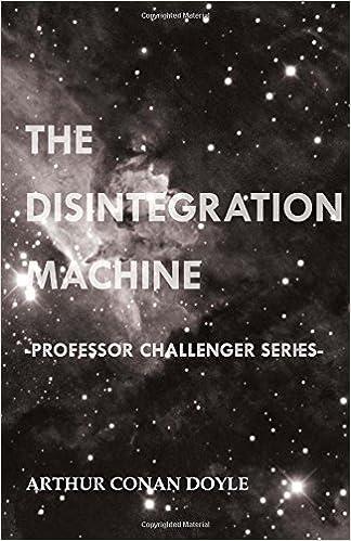 Book The Disintegration Machine (Professor Challenger Series)