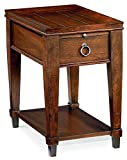 Hammary Chair Side Table in Mahogany Finish Review