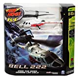 Air Hogs Bell 222 R/C Airwolf - White/ Red