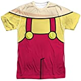 The Family Guy Stewie Costume Mens Sublimation Shirt White LG