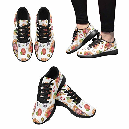 Interestprint Femmes Jogging Running Sneaker Léger Aller Facile Confort De Marche Sport Chaussures De Course Multi 12