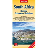 South Africa - Namibia - Botswana - Zimbabwe Nelles Map