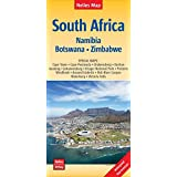 Nelles Map Landkarte South Africa : South Africa, Namibia, Botswana, Zimbabwe | Südafrika | Afrique du Sud | África del Sur: 1:2,5 Mio | reiß- und ... ... & impermeable (Nelles Map / Strassenkarte)